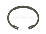 33411138648 Genuine BMW Wheel Bearing Retainer; Rear Wheel Bearing Snap Ring; 79x2.5mm