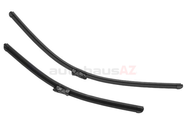 3397007088 Bosch Windshield Wiper Blade Set; Front Left and Right, Set of 2; OE Style