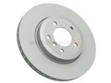 34101166071 Zimmermann Coat Z Disc Brake Rotor; Front; Vented 325x25mm