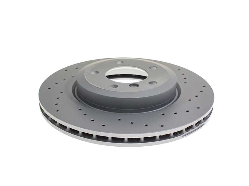 34101166071SP Zimmermann Sport Z X-Drilled Disc Brake Rotor; Front; Vented 325x25mm; Cross-Drilled