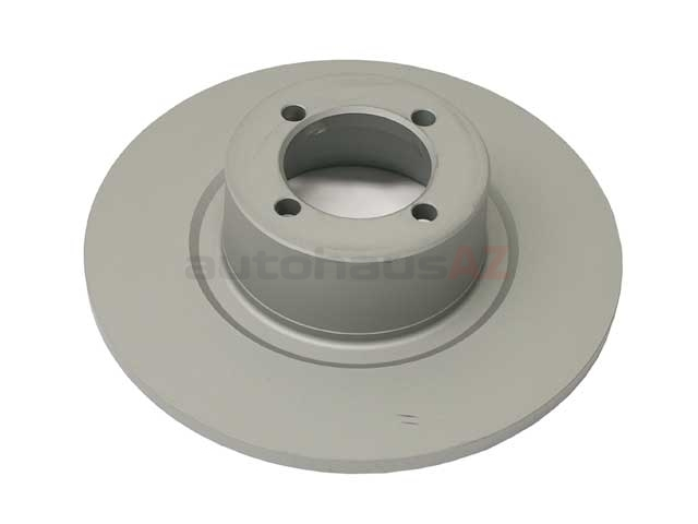34111117422Z Zimmermann Coat Z Disc Brake Rotor; Front; Solid 240x10mm