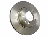 34111151655 ATE Disc Brake Rotor; Front; Vented 284x22mm