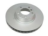 34111159895 ATE Coated Disc Brake Rotor; Front; Vented 324x30mm