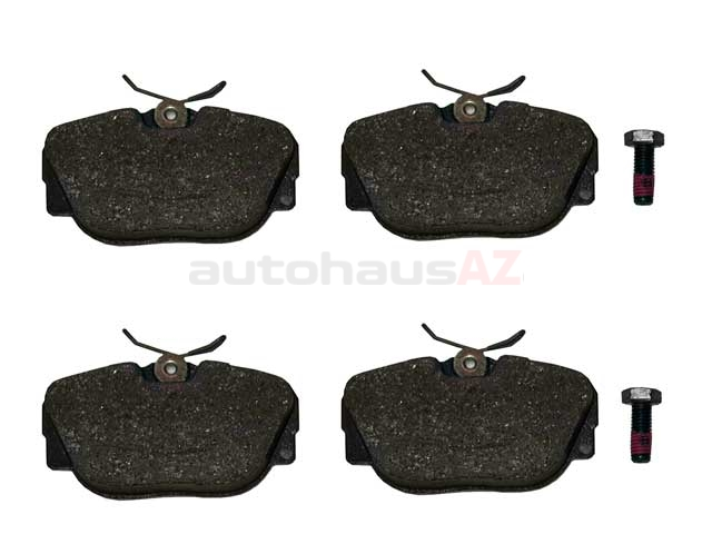 34111162481ATE ATE Brake Pad Set; Front; OE Compound
