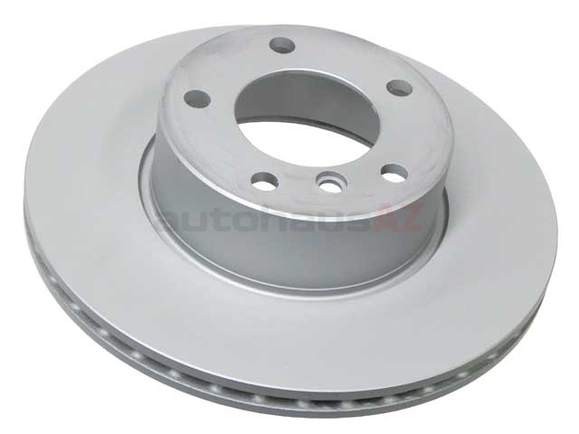 34111164839 Zimmermann Coat Z Disc Brake Rotor; Front; Vented 296x22mm
