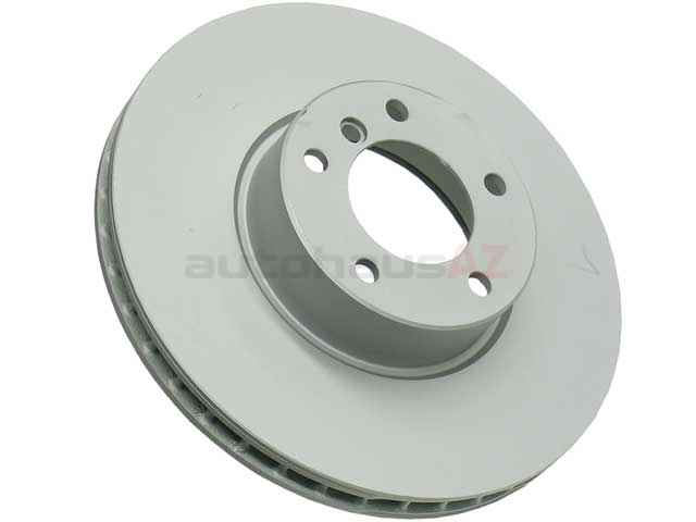 34111165859 Zimmermann Coat Z Disc Brake Rotor; Front; Vented 324x30mm