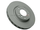 34112227172 Zimmermann Coat Z Disc Brake Rotor; Front Right; Directional; Vented 315x28mm