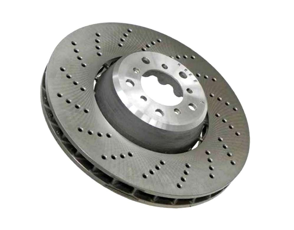 34112282805 Zimmermann Formula Z Disc Brake Rotor; Front Left; Directional; 374x36mm