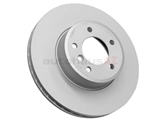 34116753221 Zimmermann Coat Z Disc Brake Rotor; Front; Vented 324x30mm