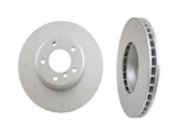 34116753221OE Genuine BMW Disc Brake Rotor; Front; Vented 324x30mm
