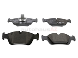 34116761244 Pagid Brake Pad Set; Front; OE Compound