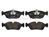 34116761244OE Genuine BMW Brake Pad Set; Front; OE