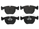 34116761252 Genuine BMW Brake Pad Set; Front; OE Compound