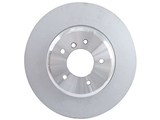 34116763824OE Genuine BMW Disc Brake Rotor; Front; Vented 348x30mm