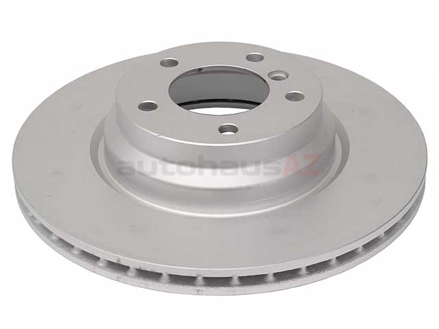 34116764645OE Genuine BMW Disc Brake Rotor; Front; Vented 330x24mm