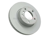34116772669 Zimmermann Coat Z Disc Brake Rotor; Front; Vented 300x24mm