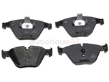 34116776161 Genuine BMW Brake Pad Set; Front; OE