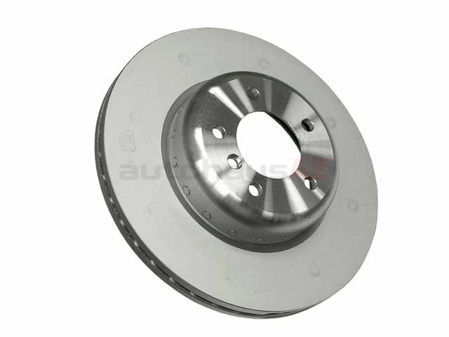 34116778647 Genuine BMW Disc Brake Rotor; Front; Vented 338x26mm