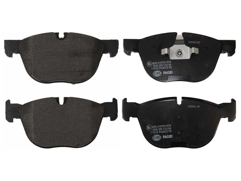 34116779293 Pagid Brake Pad Set; Front, OE Compound