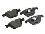 34116780711 Pagid Brake Pad Set; Front, OE Compound