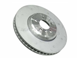 34116785675OE Genuine BMW Disc Brake Rotor; Front Left Directional