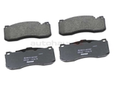 34116786044 Textar Brake Pad Set; Front, OE Compound