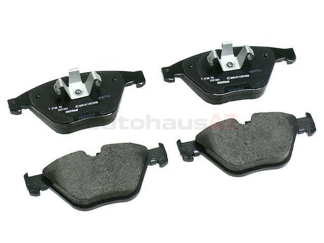34116790759 Textar Brake Pad Set; Front, OE Compound