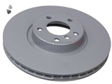 34116793244 Brembo Disc Brake Rotor; Front, 348x30mm