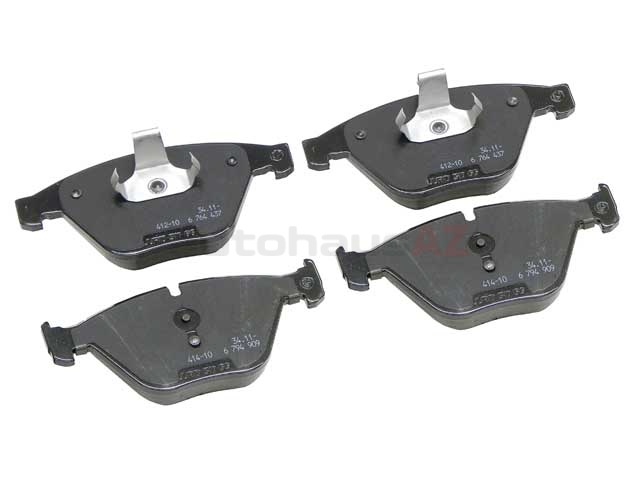 34116794915 Genuine BMW Brake Pad Set; Front