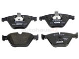 34116794917 Pagid Brake Pad Set; Front