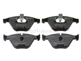 34116794918 Jurid Brake Pad Set; Front; OE Compound
