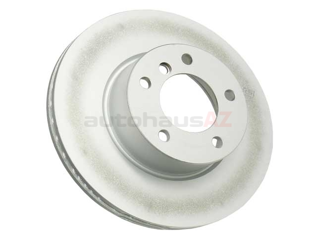 34116854998 Genuine BMW Disc Brake Rotor; Front; Vented 300x24mm