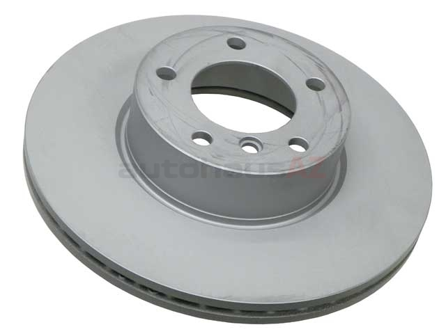 34116855006 Zimmermann Coat Z Disc Brake Rotor; Front; Vented 312x24mm