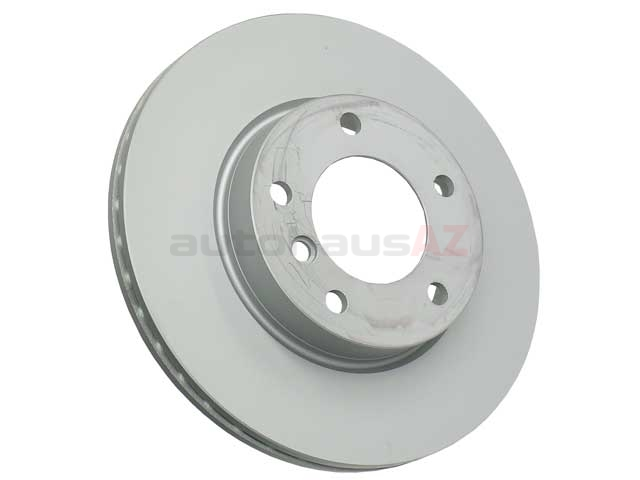 34116855153 Zimmermann Coat Z Disc Brake Rotor; Front; Vented 285x22mm 5 Lug