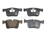 34116856193 Genuine BMW Brake Pad Set; Front