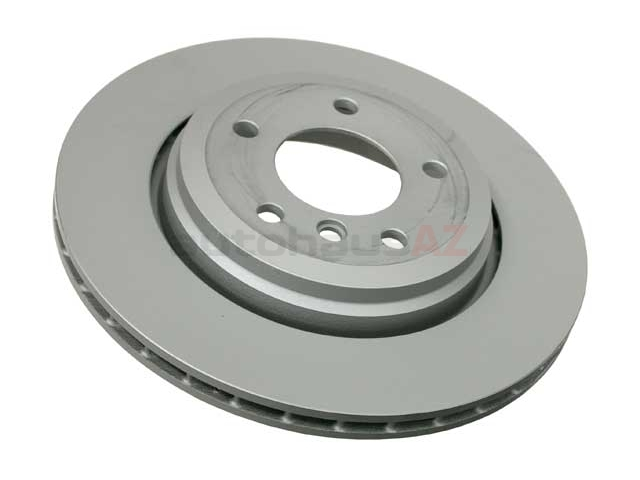 34201166073 Zimmermann Coat Z Disc Brake Rotor; Rear; Vented 320x22mm