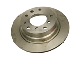 34211119566 ATE Disc Brake Rotor; Rear; Solid 272x10mm
