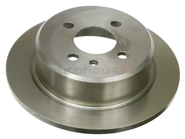 34211119581 ATE Disc Brake Rotor; Rear; Solid 258x10mm 4 lug