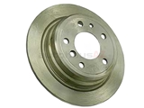 34211121387ATE ATE Disc Brake Rotor; Rear; Solid; 284x10mm