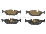 34211157925 ATE Brake Pad Set; Rear; OE Compound