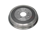 34211158712 OMC Brake Drum; Rear; 250mm Diameter
