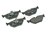 34211163395 ATE Brake Pad Set; Rear; OE Compound Wide Clip Style for E39 5-Series