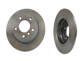 34211164401 Genuine Disc Brake Rotor; Rear; Solid 280x10mm