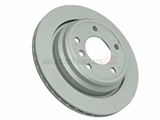 34211164840 Zimmermann Coat Z Disc Brake Rotor; Rear; Vented 298x20mm