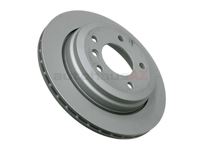 34211166165 Zimmermann Disc Brake Rotor; Rear; Vented 294x19mm