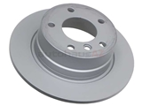 34216752545 Zimmermann Coat Z Disc Brake Rotor; Rear; Solid; 280x10mm; 5 Lug