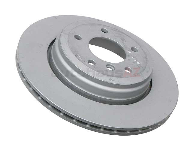 34216753215 Zimmermann Coat Z Disc Brake Rotor; Rear; Vented 320x20mm