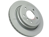 34216764653 Zimmermann Disc Brake Rotor; Rear; Vented, 300x20mm