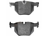 34216769105 Pagid Brake Pad Set; Rear; OE Supplier Compound