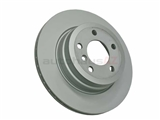 34216793247 Zimmermann Coat Z Disc Brake Rotor; Rear, Vented; 320x20mm